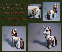 The Winter Stallion by liz-neko