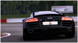Audi R8 in Green Hell by 1R3bor