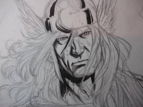 Thor Commission by MatiasStreb