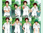 Eight Faces of Eiji by eyedonno