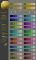 mixing color study 31CW by JustIRaziel