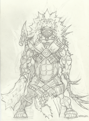 Heracles redesign (pencil no. 2)