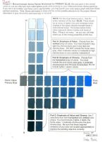 Color Theory-Primary Color Palette Blue by SilverSpectrum23
