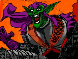GREEN GOBLIN IN COLOR by shithlord