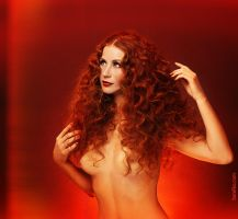 Fire lady by gromaler