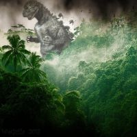 Godzilla Jungle Fever by WoGzilla