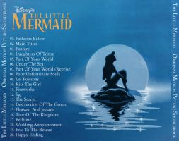 The Little Mermaid Back Cover by peachpocket285