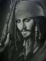 Jack Sparrow by Joanna-Vu