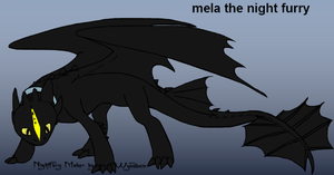 Mela the night furry by pd123sonic