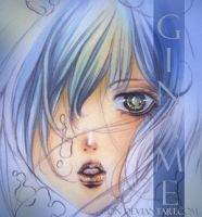 Blue Portrait ID by Giname