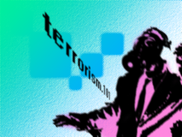 ATE the halftone : terrorism by zer01-expo