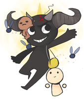 go play the binding of isaac by ChocolateChao