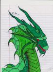 Green Dragon by Da-Jelly-Fish