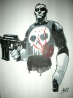 punisher by lazeedog