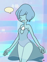 Steven Universe - Blue Pearl 04 by theEyZmaster