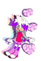izzy the hedge-fox by X-RedFox-X