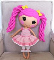 Lalaloopsy dress + pantaloons by choucream