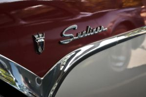 Ford Fairlane Sunliner Emblem by theCrow65