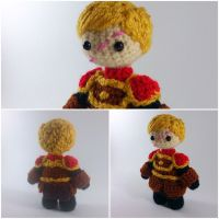 Tyrion Lannister amigurumi from Games of Thrones by ForgottenMermaid