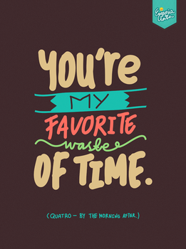 You're My Favorite by eugeniaclara