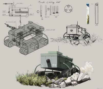 Sample Collecting UGV by Pablo-M