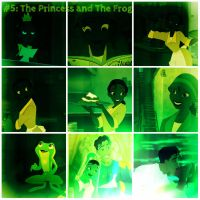 The Princess and The Frog collage by SweetHea