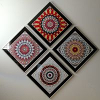 Kaleidoscope Images on Wall by SBricker