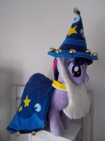 MY LITTLE PONY TWILIGHT SPARKLE AS STARSWIRL by CINNAMON-STITCH