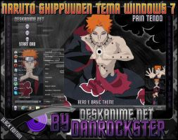 Pain Tendo Theme Windows 7 by Danrockster