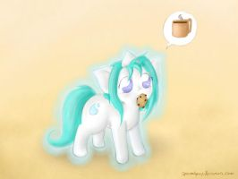 Coffee for Cookie by SpectralPony