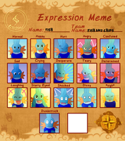 Fish Expression Meme(PMDO) by StormofSloths