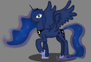 Princess Luna  by TechLogan