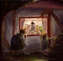 Hansel and Gretel- Being sent away by thetickinghearts
