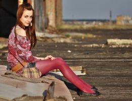 stare and tights fashion by girls-n-stylestock