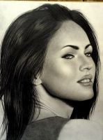 Megan Fox WIP III by robdolbs
