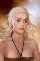 Mother of Dragons by ChristinZakh