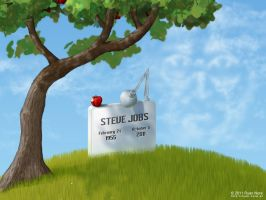 Steve Jobs RIP by RyanNore