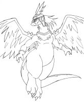 shiron the wind dragon by Reagan700