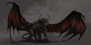 Taurus Demon by Isvoc