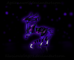 Collab:Nightmare by Agelenawolf