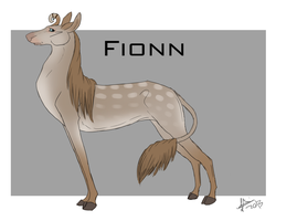 Fionn Sheet- Fawnling Doe. by joesse