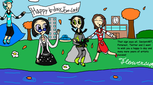 Interaction and Collaboration/Jon-Lock's Birthday! by flowersun123