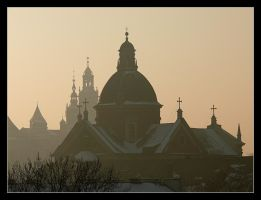 Wiev From The Roof - Cracow 4 by skarzynscy