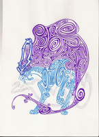 suicune special style by Dormin-Kanna