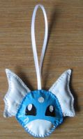 Duct Tape Dratini Charm by Kia-arra
