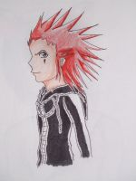 Axel scetchy by oujiyuki