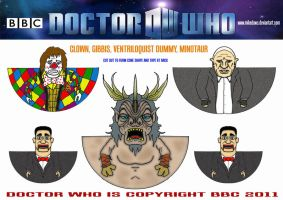 Doctor Who - The God Complex by mikedaws