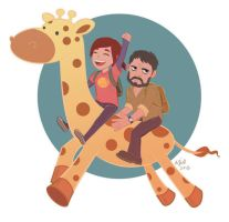 Giraffe Time! by soundgarden84