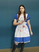 Alice Madness Returns Cosplay 1 - Neko-Con 2014 by Isobel-Theroux