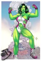 She Hulk by Iago-Maia